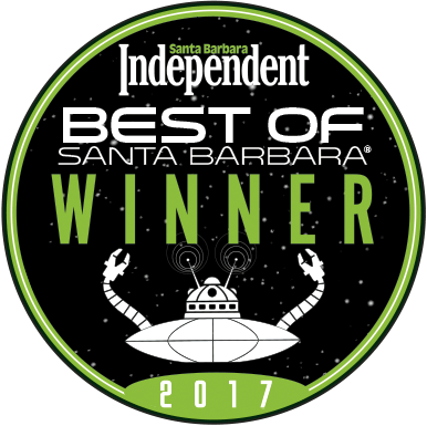 2017 Best of Santa Barbara Winner Seal